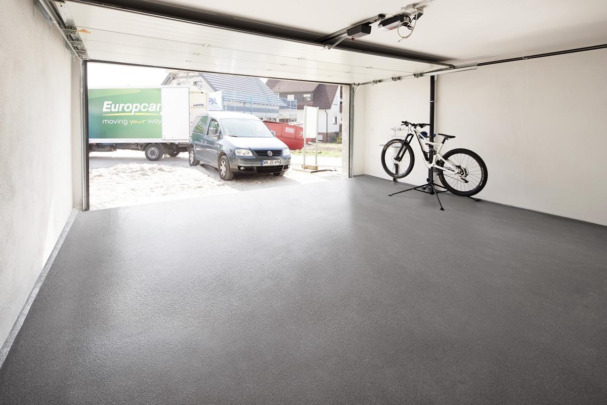Beschichtung Garagenboden